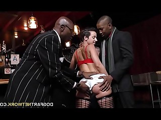 Black Big Cock Girlfriend Huge Cock Interracial Monster Threesome