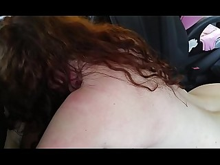 Amateur Blowjob Daddy Horny Redhead Ride