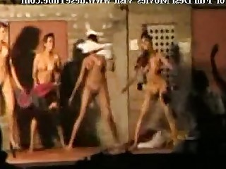 Dancing Indian Nude Striptease