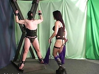BDSM Brunette Double Penetration Slave Mistress