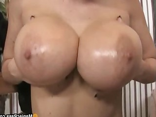 Ass Big Tits Brunette Bus Busty Facials Glasses Handjob